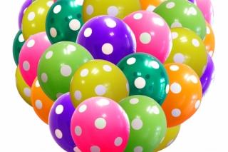 """Бесплатная доставка воздушных шаров при заказе от 1000 руб. от компании """"Шариков-Спб"""""""