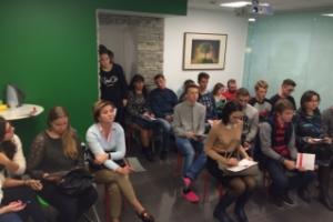 """Как поступить в ИТМО? Встреча с деканом Филиппом Казиным в центре """"АРТ Личность"""", фото"""
