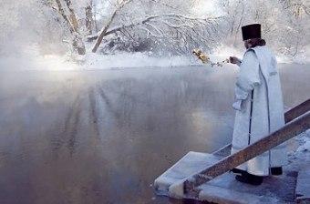 """Крещение 2016 в """"Охта Парке"""" - где окунуться на крещение в СПб?"""
