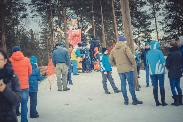 """Празднование Масленицы 2016 на свежем воздухе в СПб: курорт """"Охта Парк"""" приглашает гостей"""
