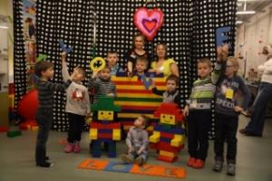 """Необычный день влюбленных для детей - в центре """"Лего-го"""" в Санкт-Петербурге"""