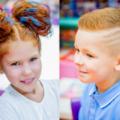 """Новогодние прически для детей в сети детских парикмахерских """"Воображуля"""", СПб"""