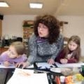 Занятия рисованием и творчеству для детей в Детской школе искусств на Чкаловской в Москве