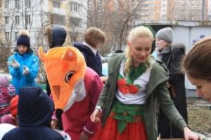 День рождения детского досугового центра Fox-club в Бескудниковском районе, фотоотчет