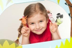 Театральные занятия для детей 2-3 и 4-6 лет: кукольный театр в Fox-club, Бескудниково