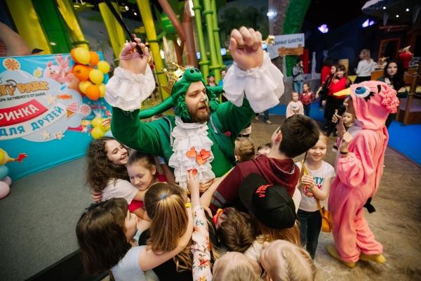 Активные майские каникулы для детей в Angry Birds Activity Park в СПб