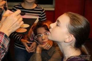 """Как стать гримером? Школа имиджа """"Детской Академии Театра и Кино"""" в СПб, фото"""