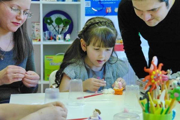 Лепка с ребенком: курс по лепке из полимерной глины ДжампингКлэй для родителей, СПб